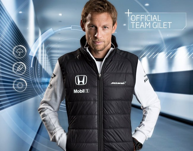 Team Mclaren Official OutMilled New AutomotiveThe Gilet Is Now YIfg6yb7v