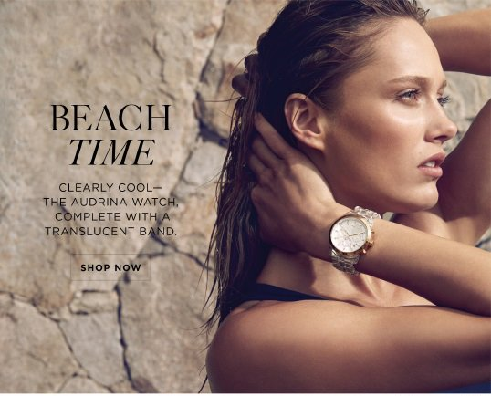 Michael Kors See Through Time The Audrina Milled