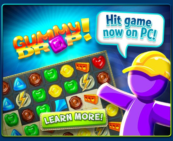 Big fish games gummy drop now available on pc milled for Gummy drop big fish games