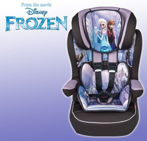 Imax Deluxe Disney Frozen Group 1 2 3 Car Seat
