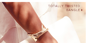 Totally twisted bangle