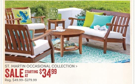 Cost Plus World Market 30 Off St Martin Outdoor Furniture Up To