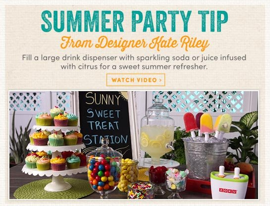 Summer Party Tip – Learn More