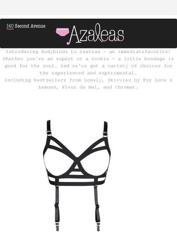 ed784acfb1 Azalea  NSFW Strappy and Cut-out Lingerie!