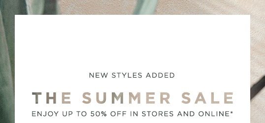 Michael Kors The Summer Sale Up To 50 Off New Styles
