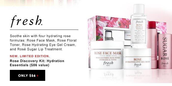 Fresh Rose Floral Toner Mask Rose Floral Toner