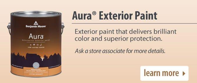 Aura Exterior Paint