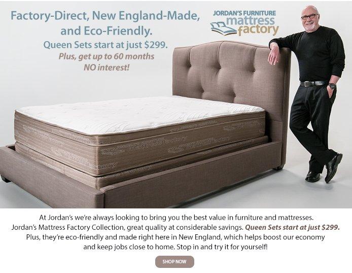 Jordan S Furniture Jordan S Mattress Factory Queen Sets Starting At