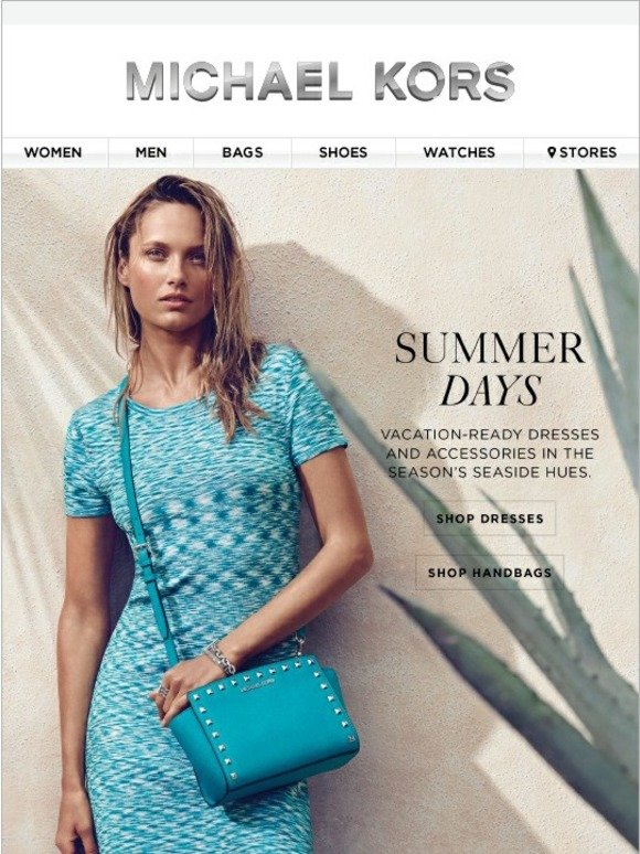Michael Kors Summer S Hottest Hue New Styles Added To