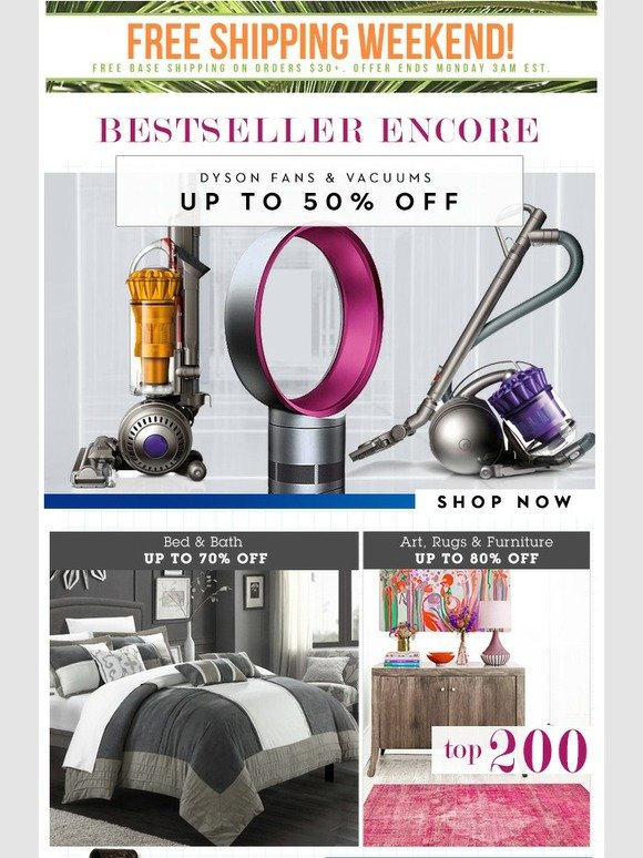 Beyond the rack dyson fans vacuums 50 off home for Home decor 50 off