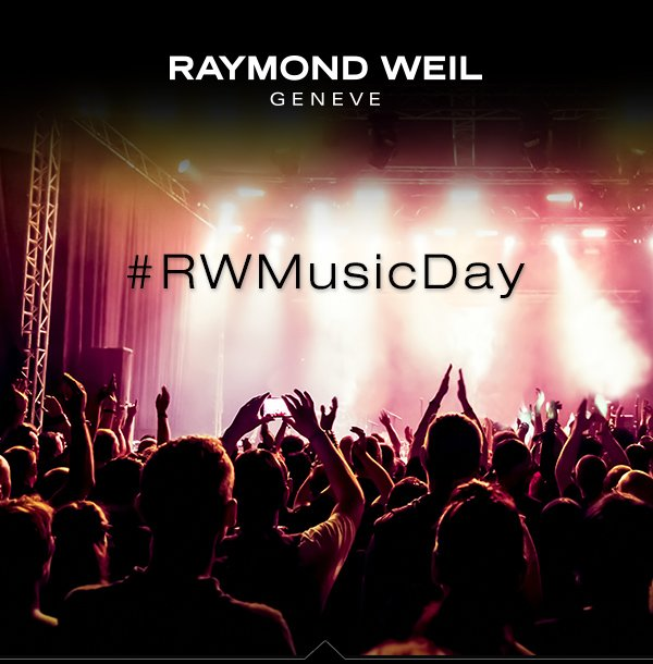 Raymond Weil: Win Concert Tickets with our #RWMusicDay contest | Milled
