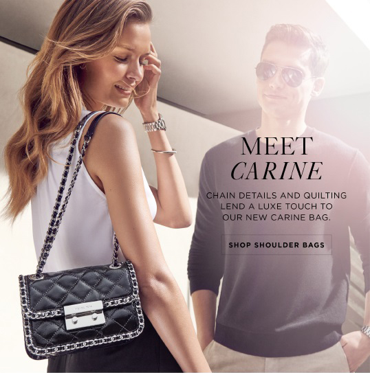 Michael Kors Currently Coveting The Carine Bag Milled