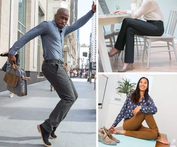 Betabrand: Office-Misery-Reduction Plan: New Dress Sweats