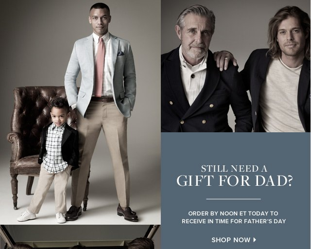 Brooks Brothers: 3 more days until Father's Day. Shop now. | Milled