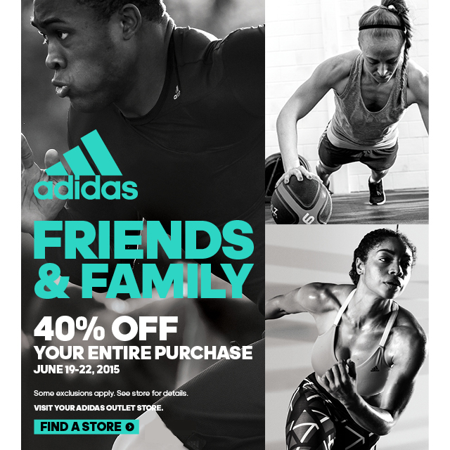 adidas adidas outlets friends family