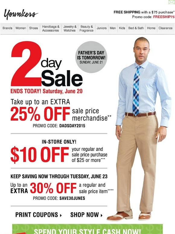 Younkers Holiday Deals 2018
