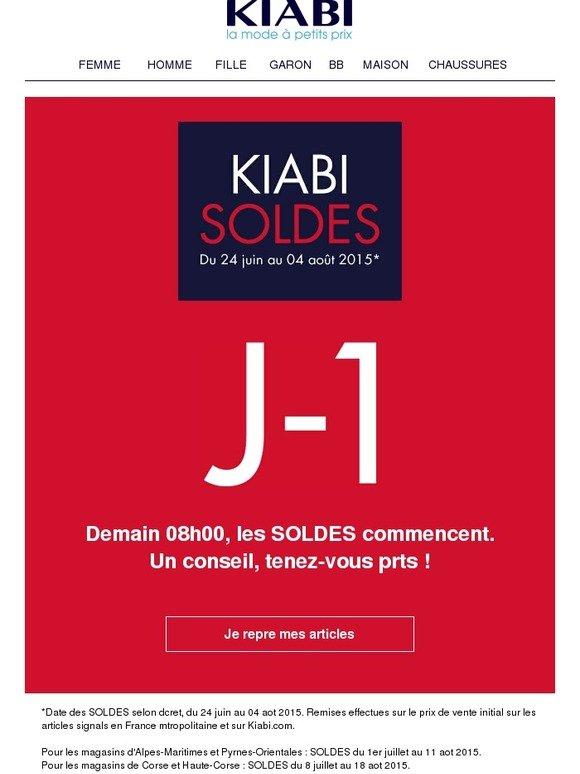 Superb Soldes Alpes Maritimes 2015 #13: Kiabi: J-1 : Prenez De Lu0027avance -   Milled