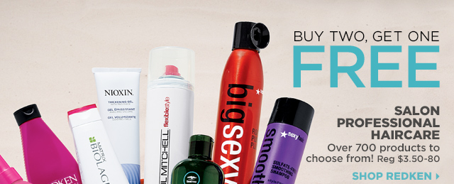 Buy Two Get One FREE Salon Professional haircare, Shop Redken