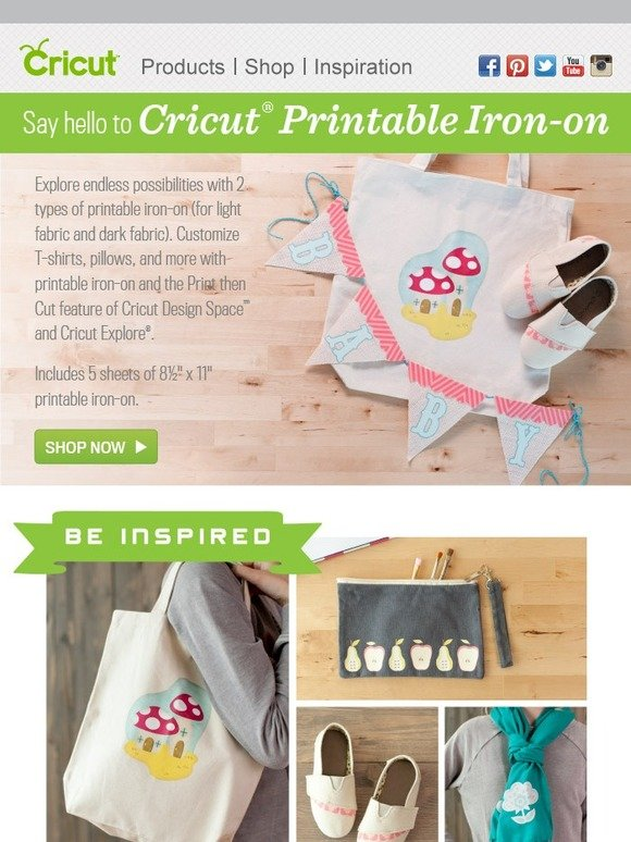 Cricut 2 New Printable Materials Are Here Milled
