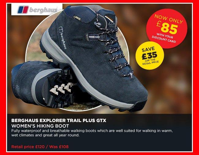 b5d2c934b7f Go Outdoors: SALE: Great savings on footwear | Save £35 off Berghaus ...