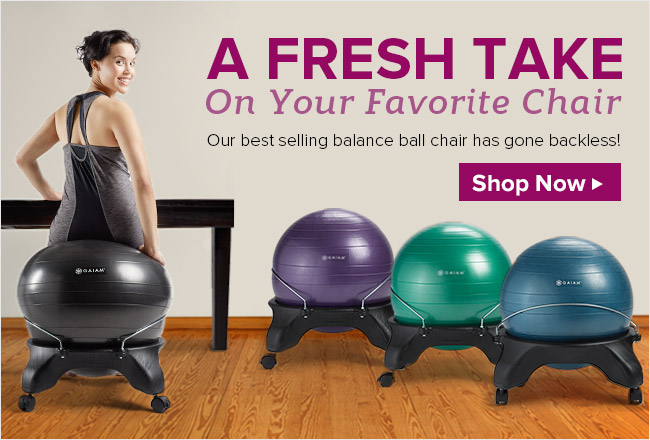 A Fresh Take On Your Favorite Chair   Our Best Selling Balance Ball Chair  Has Gone