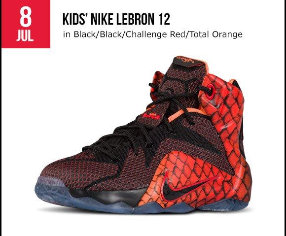 07a0912a8ab60 Foot Locker  Releasing tomorrow  Nike LeBron 12