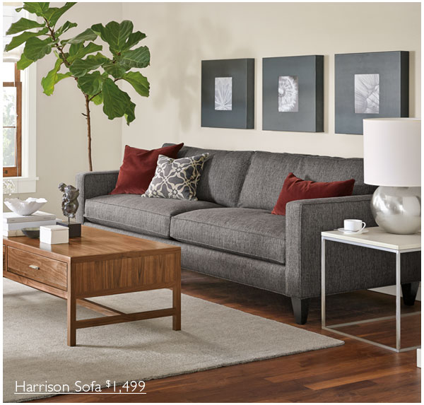 Room Board New Harrison Sofa Collection Milled