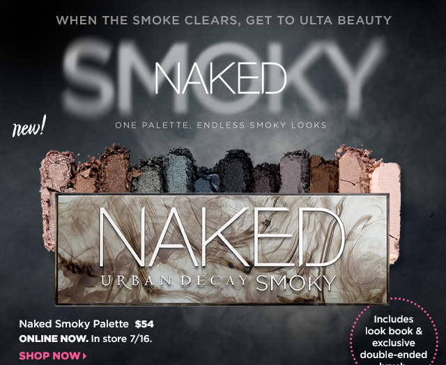 Urban Decay NAKED Smoky Palette $54, Online Now. Shop Now