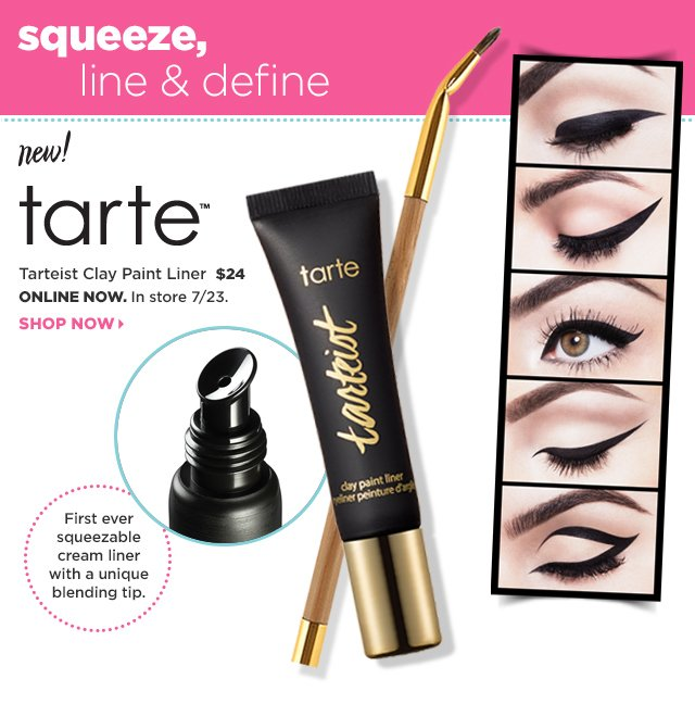 Tarte Tarteist Clay Paint Liner $24, Shop Now