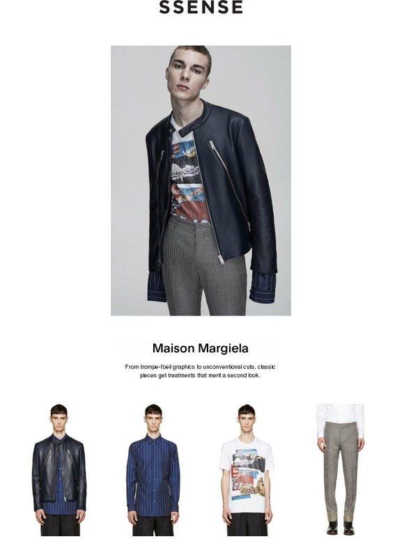 519cf82f4 SSENSE: Maison Margiela's element of surprise | Milled