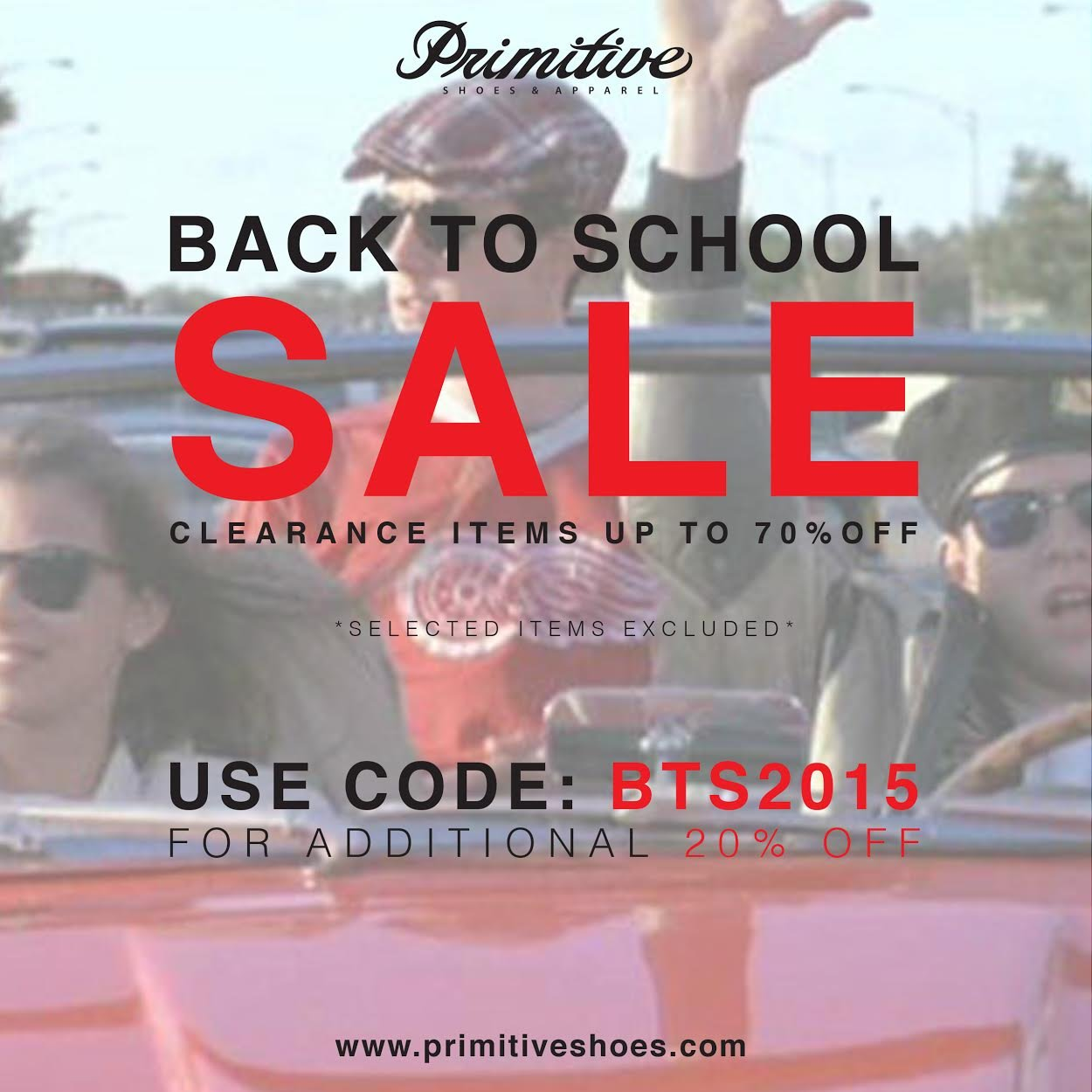 Our Back to School sale is also still in full effect right now! Take  advantage of up to 70% off goods! Sale ends Sunday at midnight. Don t miss  out! d2cd0909d