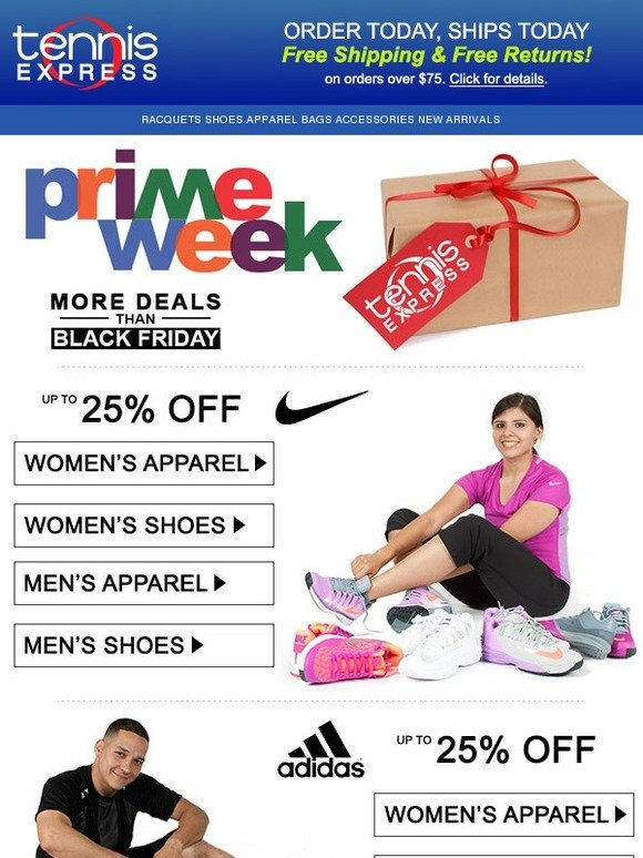Tennis Express Prime Week Tennis Sale Continues Milled