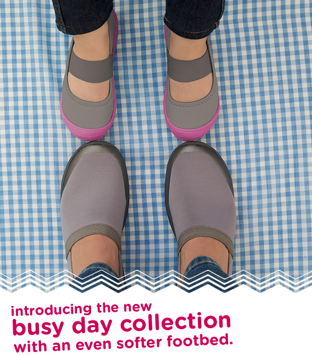 dfb97ef99120d introducing the new busy day collection with an even softer footbed.