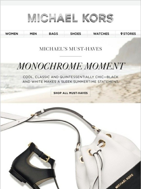 Michael Kors Michael S Must Haves Opposites Attract Milled