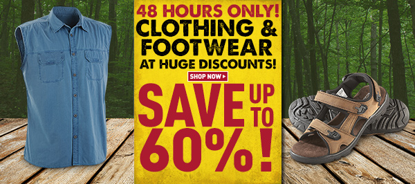216ac95b970 The Sportsman s Guide  48 Hours Only  Upgrade Your Summer-Wear for ...