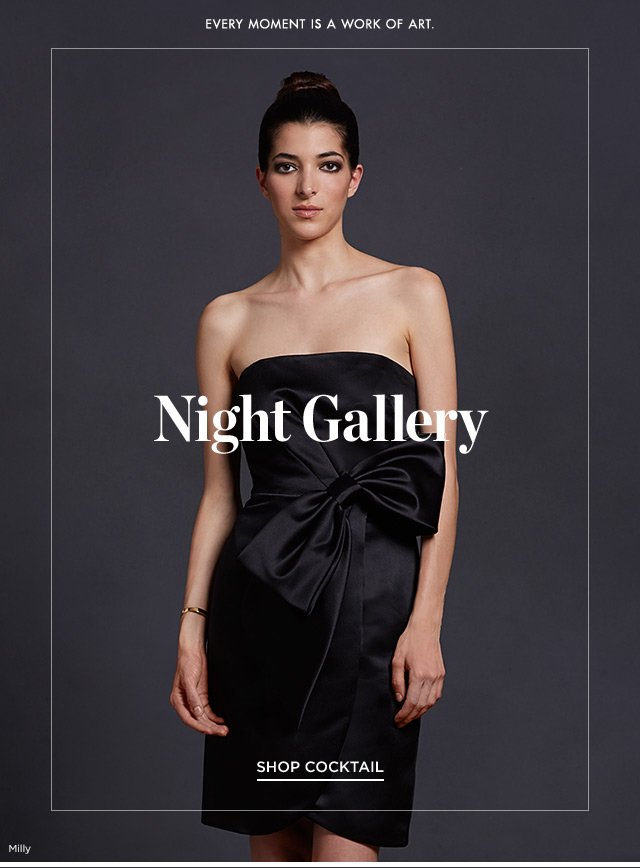 Saks Fifth Avenue: Evening Gowns & Cocktail Dresses | Milled
