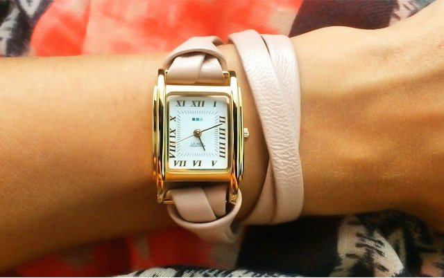 Telling Time in Style:  Wrap Watch Fashion for Girls