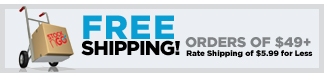 Free Shipping on $49