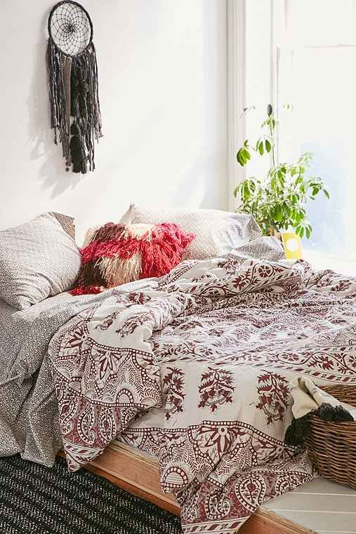 stripe cover boho pin magical and thinking duvet