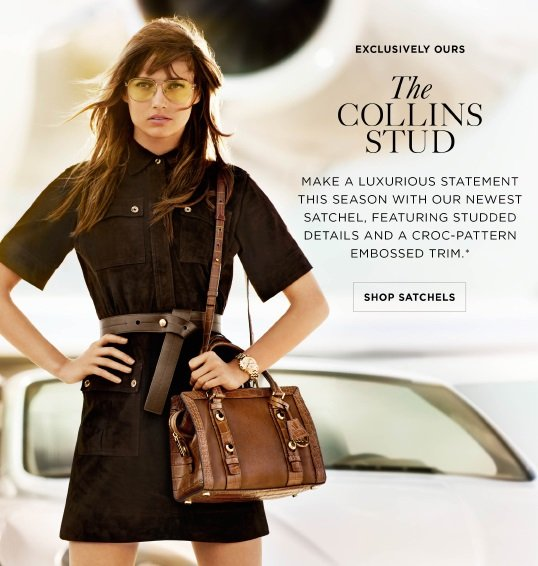 Michael Kors Exclusively Ours The Collins Stud Milled