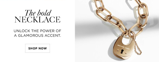 Michael Kors Your New Favorite Statement Jewelry Milled