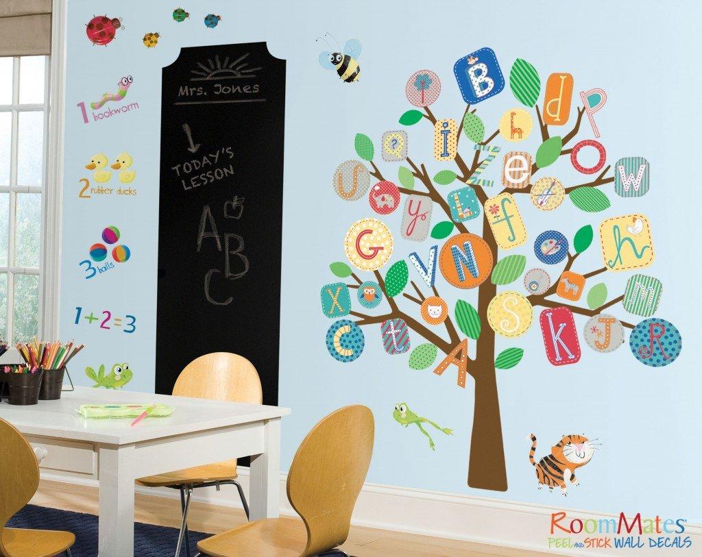 Classroom Wall Decoration Diy : Roommates peel stick back to school savings milled