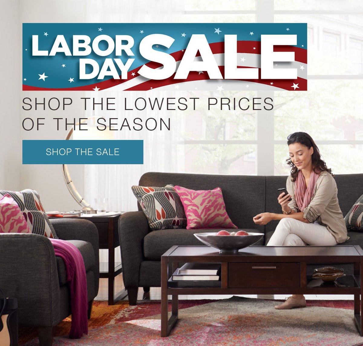 Labor Day Sofa Sale: La-Z-Boy: It's Time! Our Labor Day Sale Starts Now