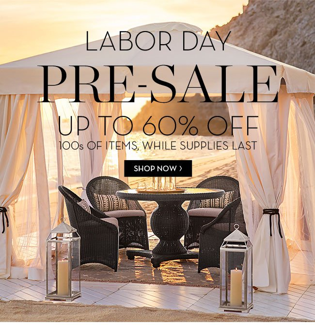 Pottery Barn Labor Day Pre Sale Starts Now Up To 60 Off 100s Of