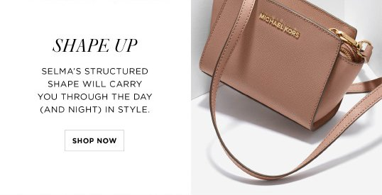 Michael Kors Bags To Make You Blush Milled