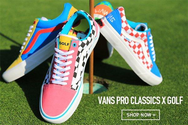 golf x vans pro classics