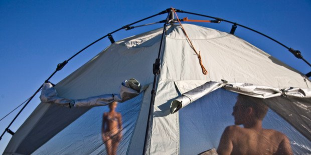 Terra Nation & Touch of Modern: Innovative sun tents; Affordable automatic ...