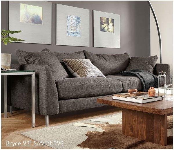 Bryce 93in Sofa $1,999