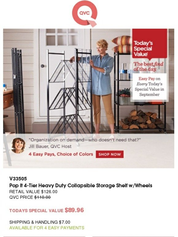 Qvc Qvc S Today S Special Value Sunday September 06