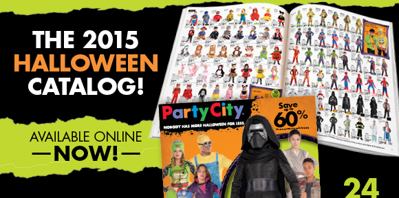 party city hurry save 20 shop the halloween catalog milled - Halloween Catalogs